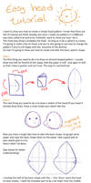 Simple plush head tutorial by Luminous-Luchador