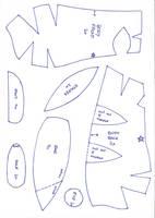 Pikachu Plush Pattern Pt.1 by Luminous-Luchador