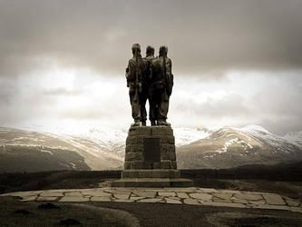 Commando Monument by honz12