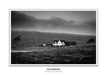 Corrour Station House by honz12
