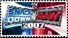Smackdown vs RAW 2007 Stamp by 143atroniJoker