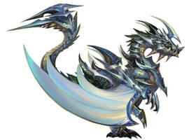 Dragon wing armor by artkingman