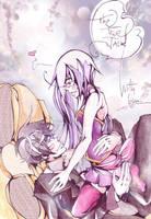 With love... [Tsubasa no Sei Art Contest] by 0TheTrueJack0