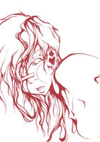 Dragon's eye [lineart] by 0TheTrueJack0