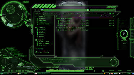 Windows 7 Theme - CyberNeon by ThaKruger