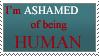 Ashamed Stamp by silent33