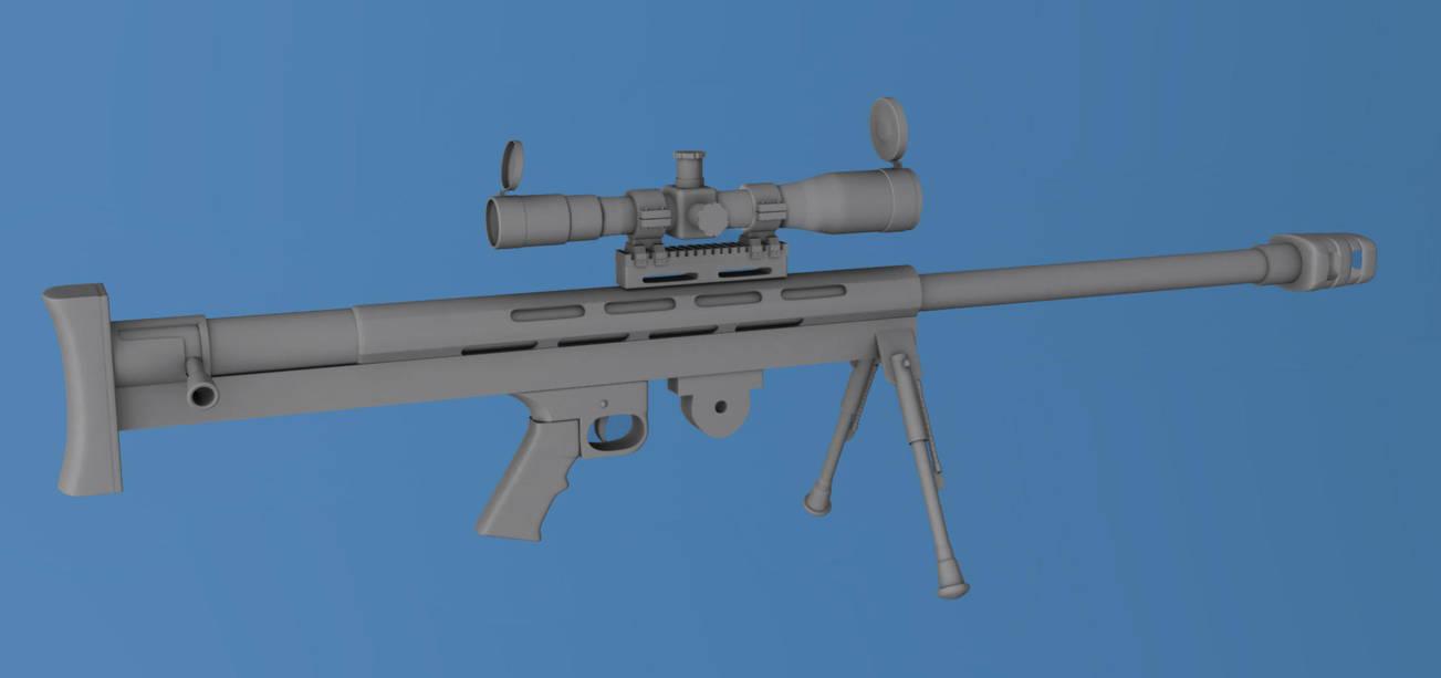 Lar Grizzly 50bmg Rifle By Julliannogueira On Deviantart