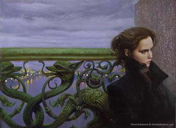 Self Portrait by EKukanova