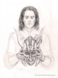Illustration for The Children of Hurin by Tolkien by EKukanova