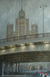 Bolshoy Ustinsky Bridge by EKukanova
