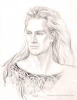Character sketch-Celegorm by EKukanova