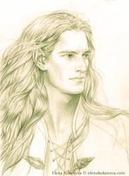 Character sketch- Angrod by EKukanova