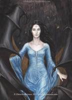 Luthien before Morgoth by EKukanova