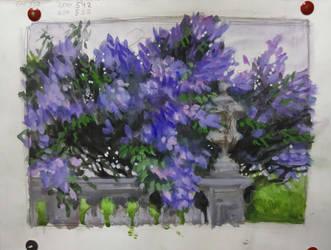 Lilac-sketch by EKukanova