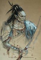 Ork -sketch by EKukanova