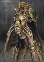 The Temple of Melkor by EKukanova