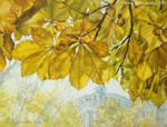 Golden chestnut by EKukanova
