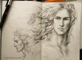 Aikanaro -sketch by EKukanova