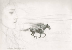 The last moments of Ard Gallen by EKukanova
