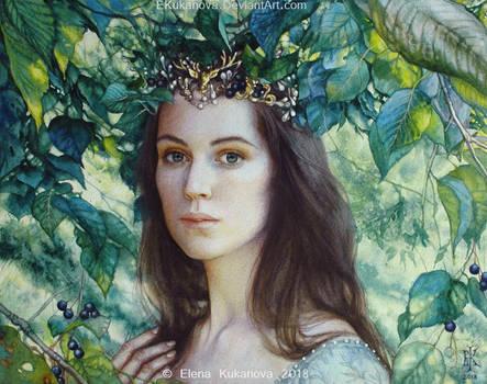 In the gardens of Lorien by EKukanova