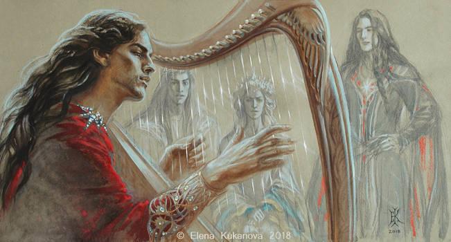 Song for a Queen by EKukanova
