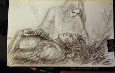 Bragollah sketch by EKukanova