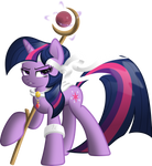 Twilight Sparkle The Warrior by RatchetHuN