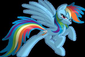 Rainbow Dash the Spirit of Loyalty by RatchetHuN