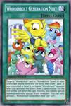 Wonderbolt Generation Next (MLP): Yu-Gi-Oh! Card by PopPixieRex