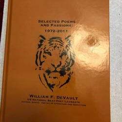 Cover of Selected Poems and Passions 1972-2011 by williamfdevault