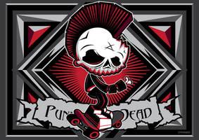 Punk Zombie by thinkd
