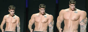 Justin muscle growth tf 2(on stage again) by bigboysmorphed