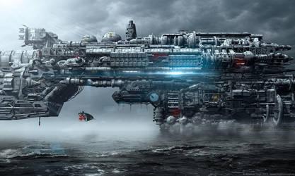 Aquaticon - The Bridge Sector by MarkusVogt