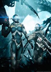 L.a.r.v.a. Squad - Desolation Fields by MarkusVogt