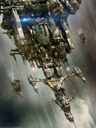 D.S.E. Aurora X - The Downfall by MarkusVogt