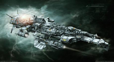 Astral Drifter VL-77 | The Lightning Storm by MarkusVogt