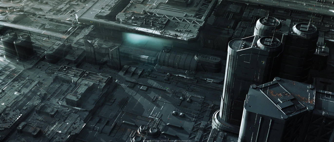 Industrial Fields by MarkusVogt