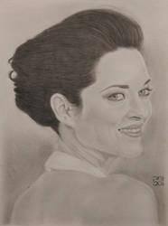 Marion Cotillard by shakuzino