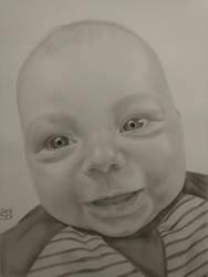 baby portrait by shakuzino