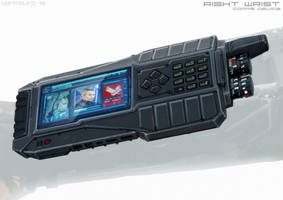 ELYSIUM - Krugers Right Wrist Device by BenMauro