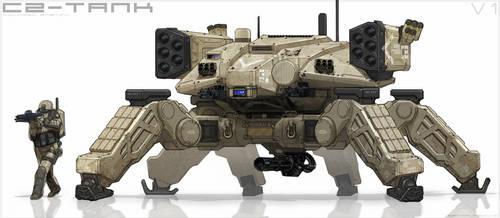 Crab Tank by BenMauro