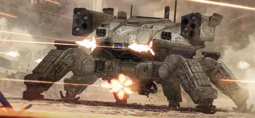 Crab Tank (BRRRRRRRRTT!) by BenMauro
