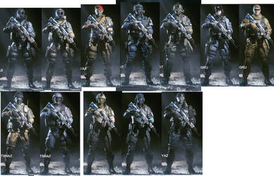 Crossfire HD Character Equipment by michaelxgamingph