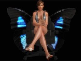 DOA5 Lisa Hamilton Swimsuit by darkblueking