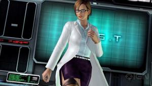 DOA5 Lisa Hamilton Lab Coat by darkblueking