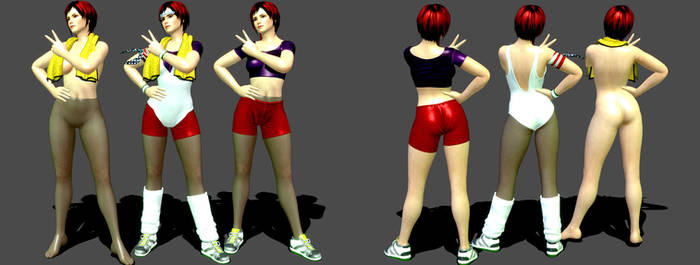 DOA5 Mila Barbie Doll Beta Version by darkblueking