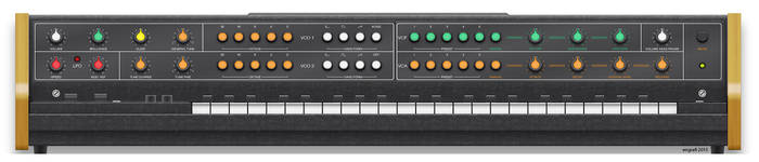 Vermona Synthesizer, Front by engrafi