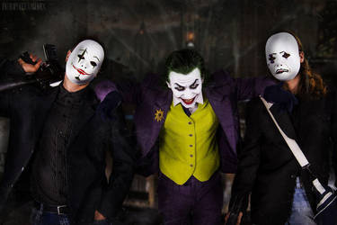 Joker Cosplay - With the Crew by Blackitt