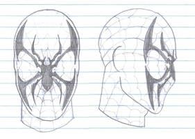 Spider-Man Mask Redesign by SpidermanGeek