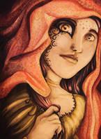 Indian Goddess by eviltt